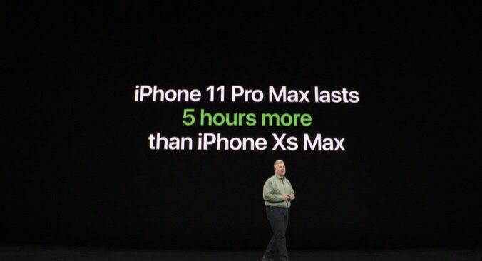 いPhone11 Pro Maxバッテリー