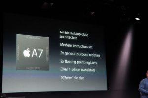 ipad mini2 A7チップ