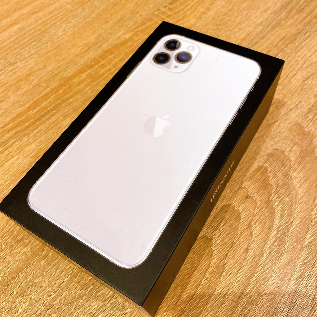 iPhone11Pro Max 512GB シルバー SIMフリー 新品