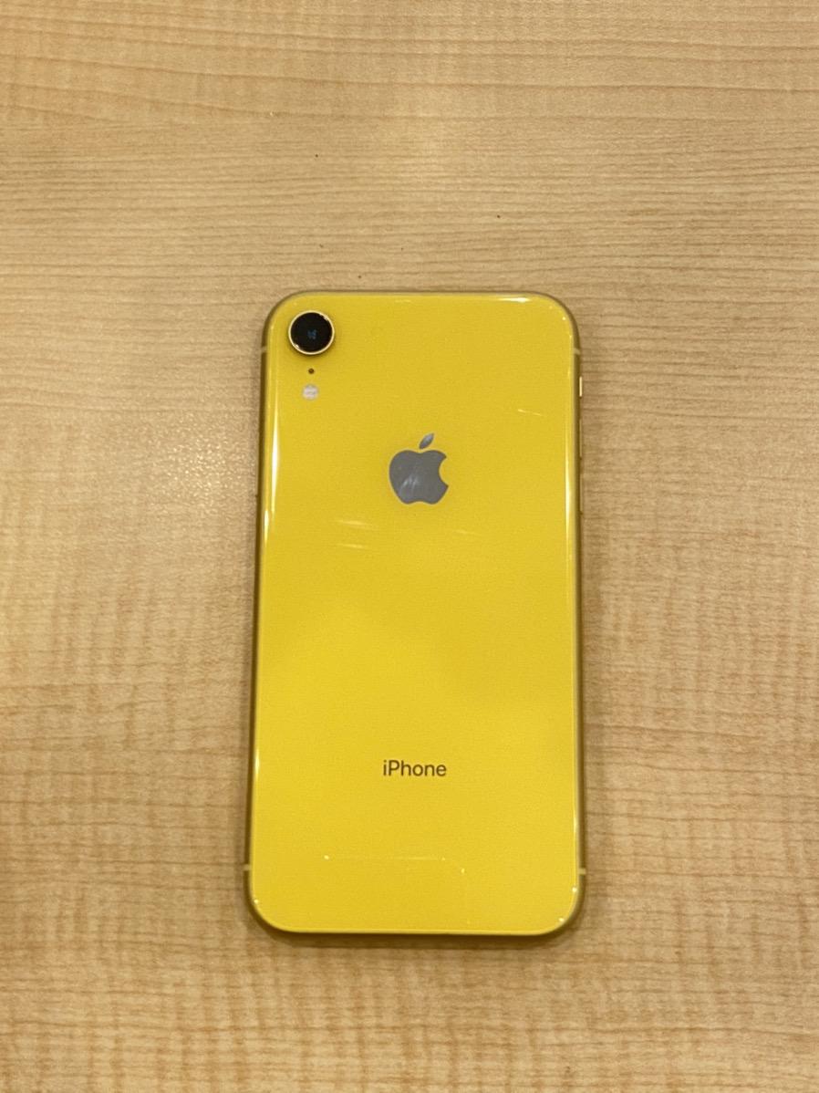 iPhoneXR128GBイエローSoftbank〇中古