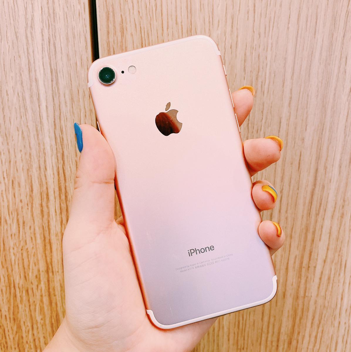 iPhone7 32GB ローズゴールド SIMフリー〇 中古