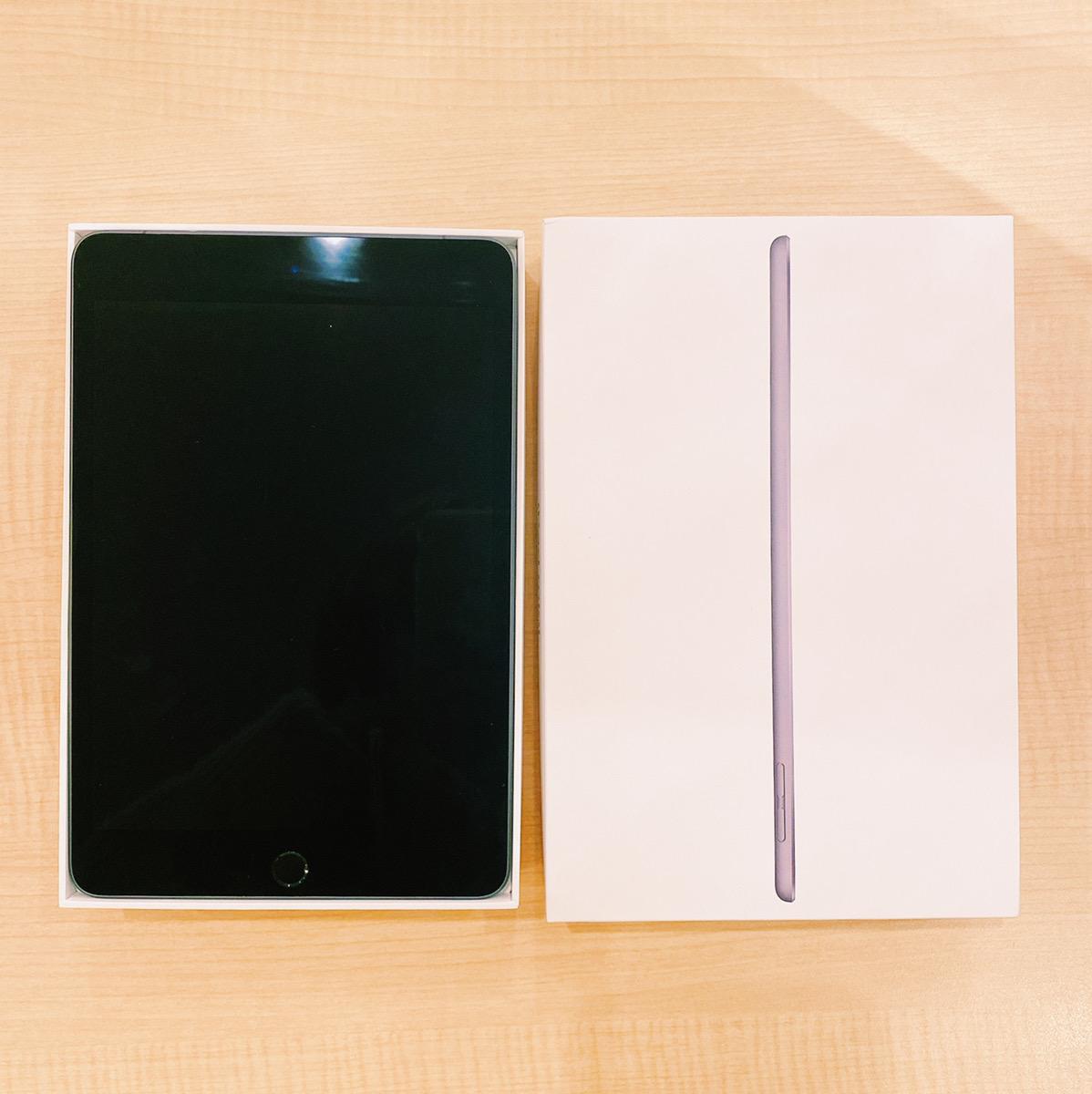 iPad mini5 64GB スペースグレー au△ 中古