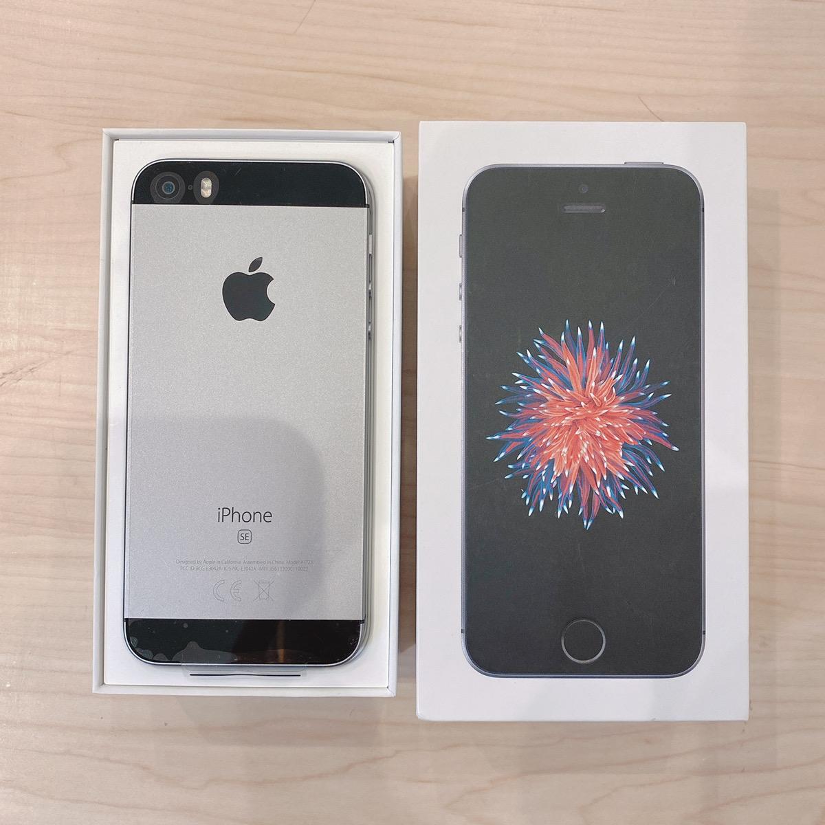 iPhoneSE 32GB シルバー au〇 中古