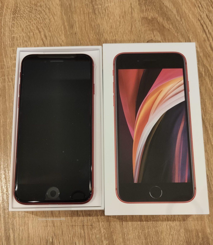 iPhoneSE2 64GB レッド UQ〇 新品