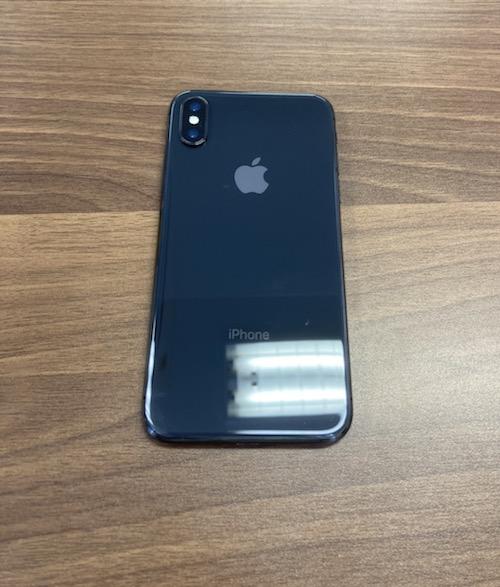 iPhoneX 64GB グレー au△ 本体のみ中古
