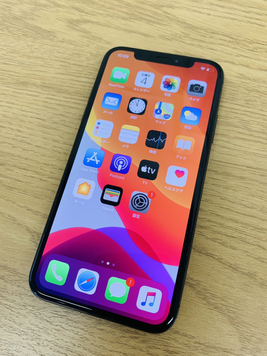iPhoneX 64GB ジャンク品(タッチ不良・Face ID使用不可等)