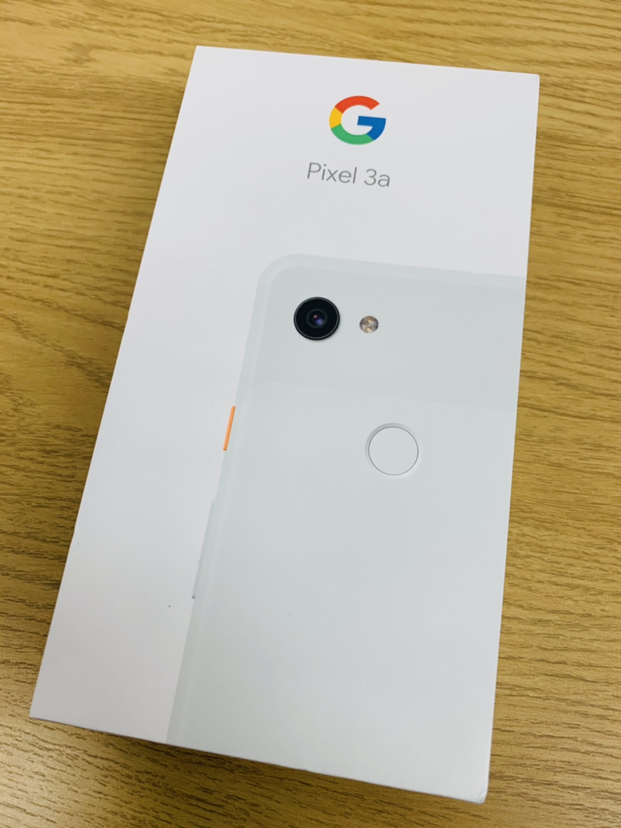 Google pixel 3a softbank△ 新品未使用品