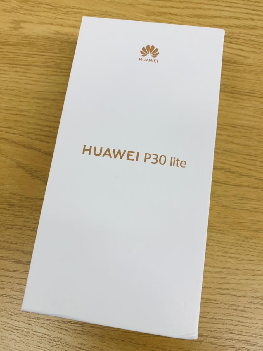 HUAWEI P30 lite Y!mobile△ 新品未開封品