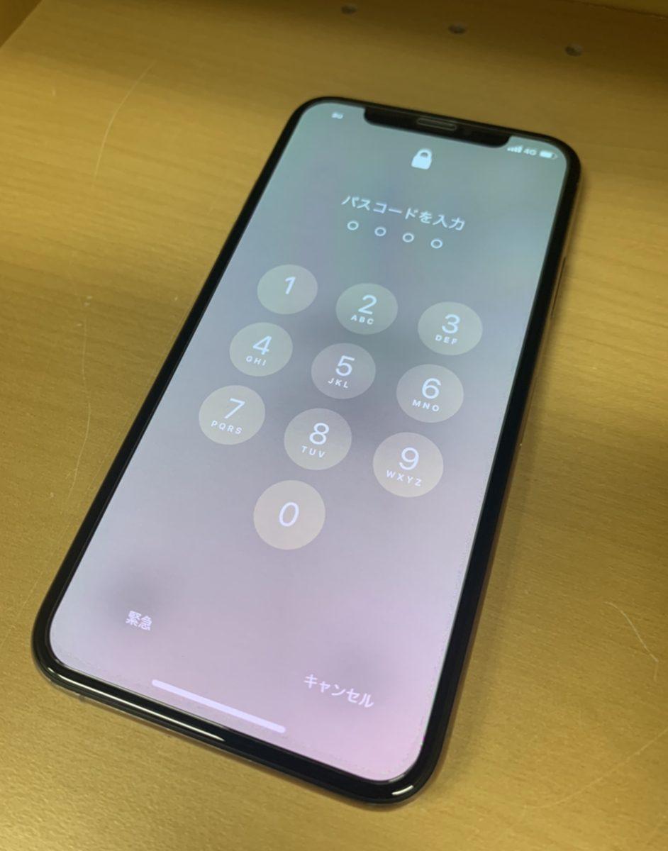 iPhoneX 256GB スペースグレー softbank△ 中古正常品