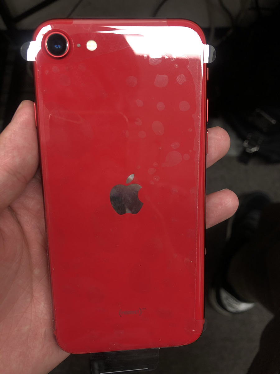 iPhoneSE2  128GB レッド SIMフリー