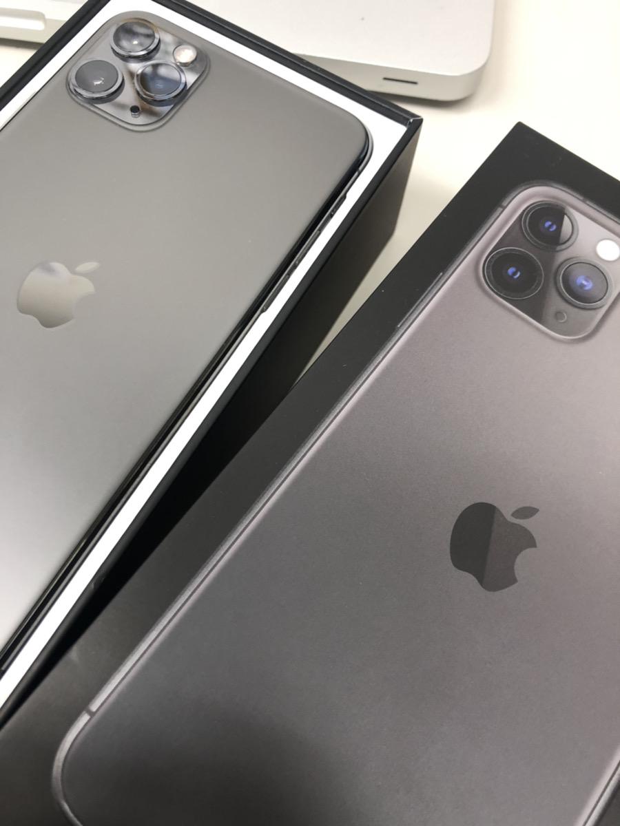 iPhone11pro Max  256GB スペースグレー