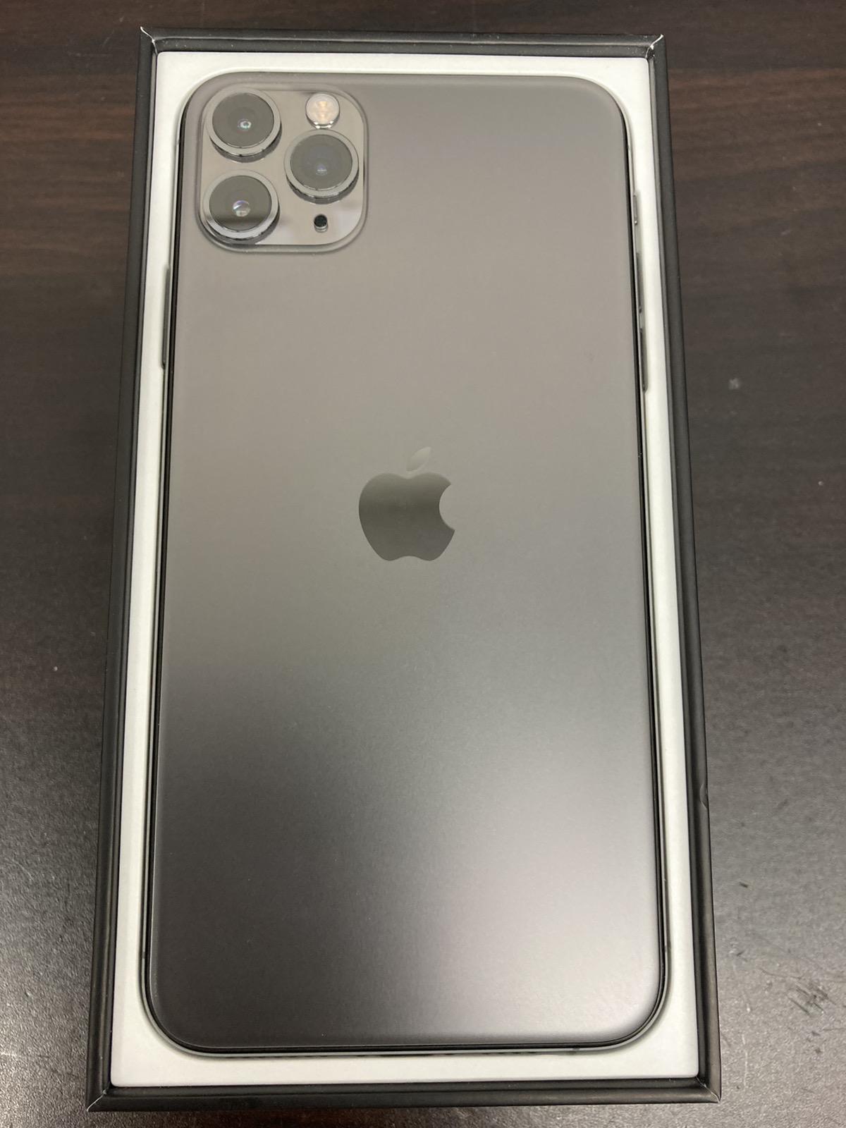 iPhone11ProMax 512GB AppleSIMフリー傷なし美品