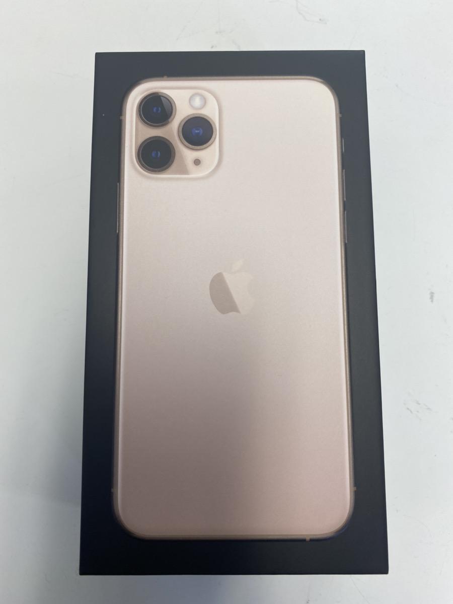 iPhone11Pro ゴールド 64GB au△ 新品