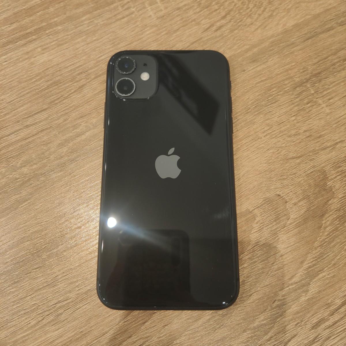 iPhone11 128GB ブラック Docomo △中古