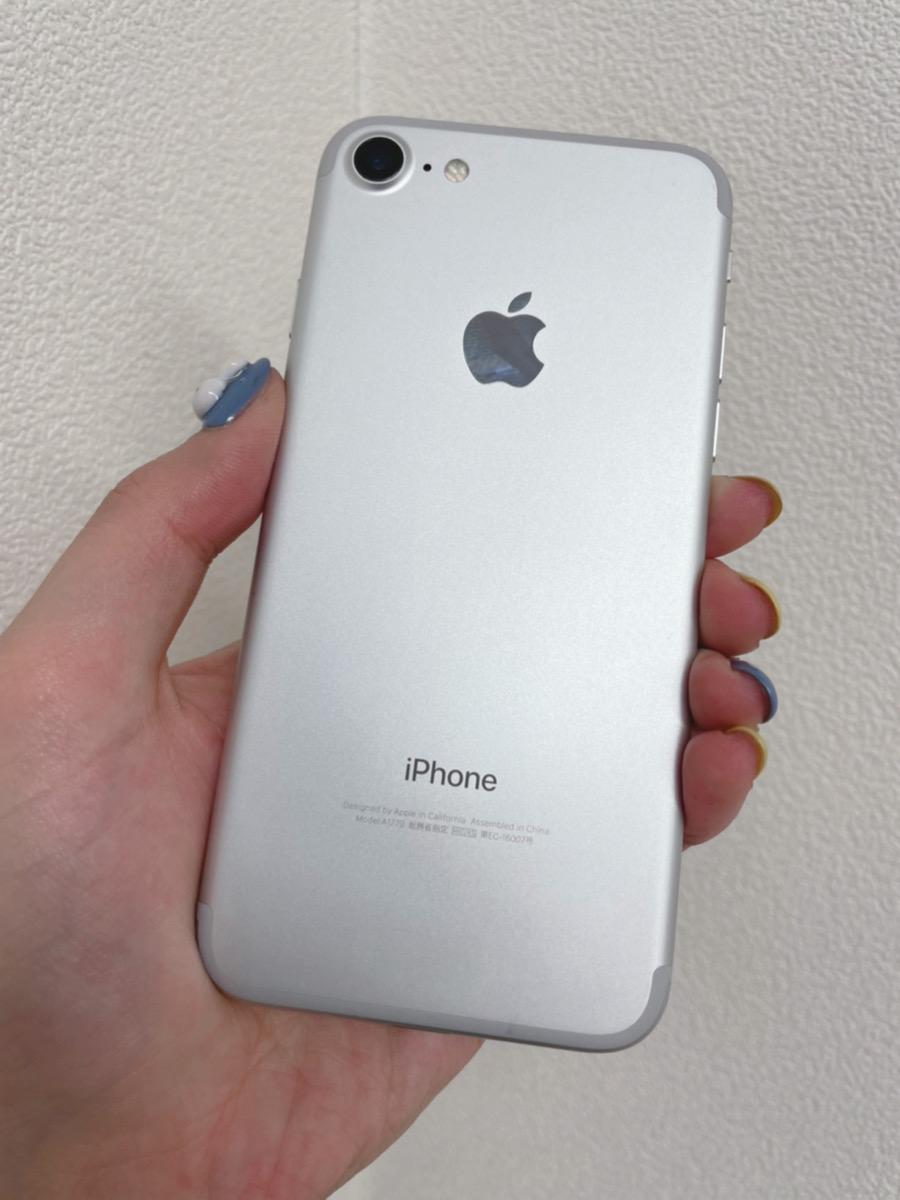 iPhone7 128GB シルバー docomo○ 中古正常品