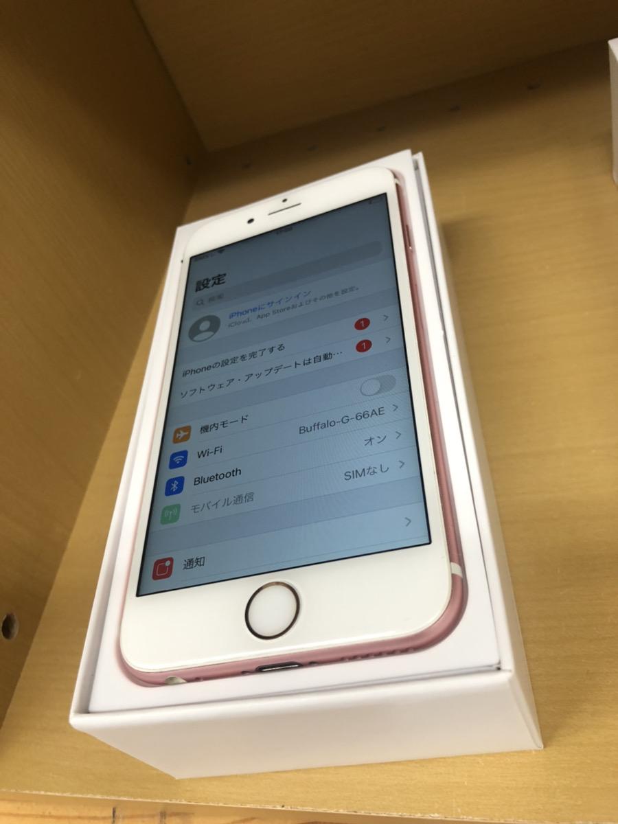iPhone6s 64GB 故障品(マナースイッチ使用不可)