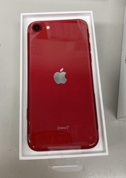 iPhoneSE2 64GB SB△ レッド 新品未使用