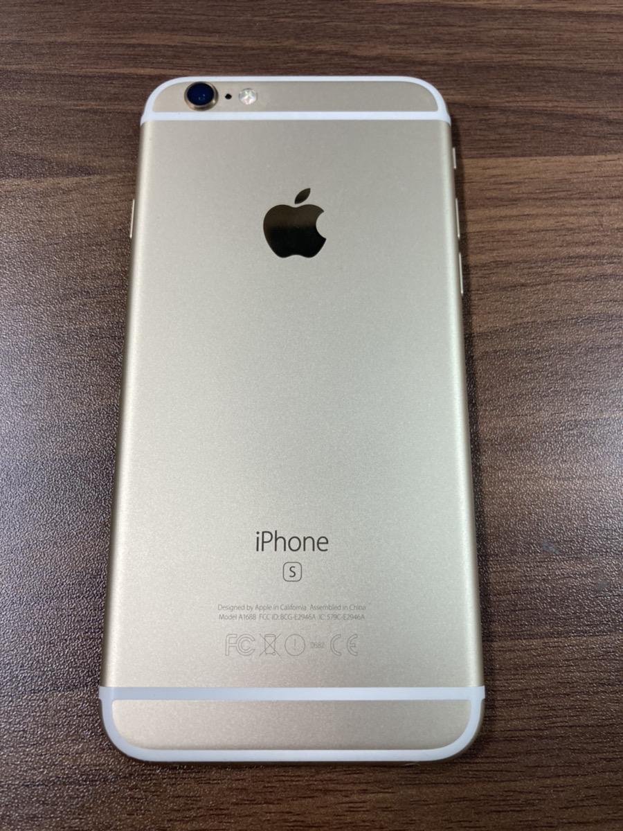 iPhone6s 128GB ゴールド docomo○ 中古本体のみ