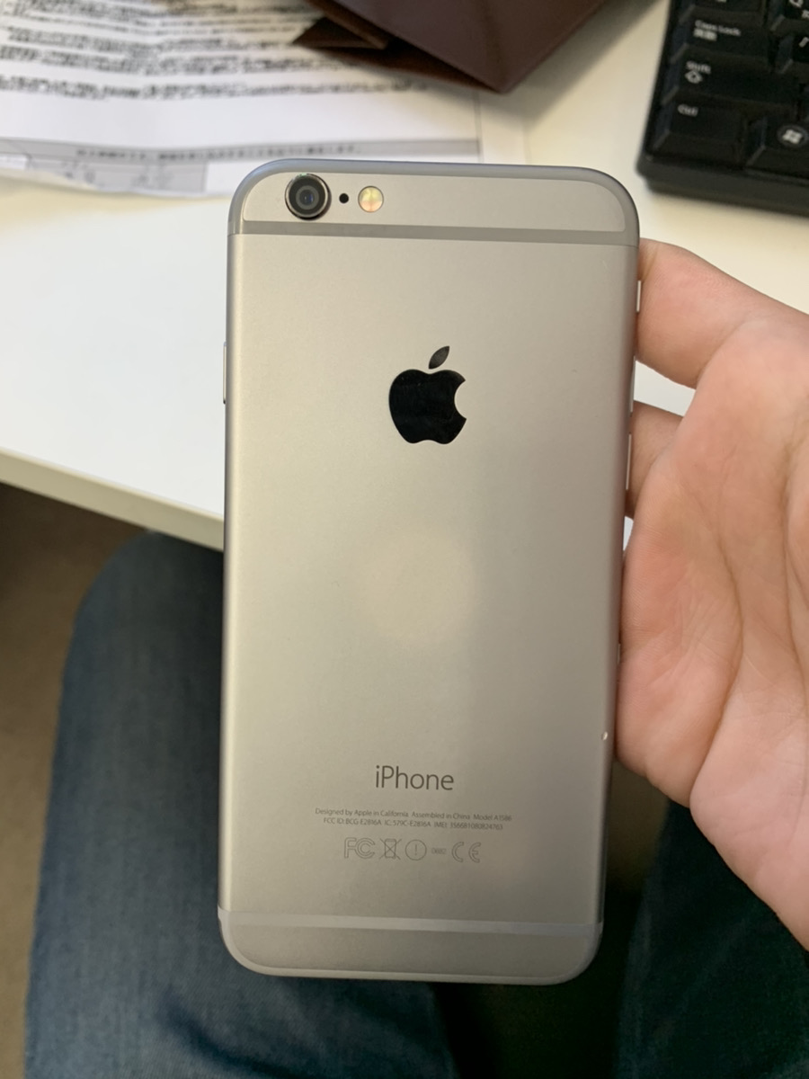iPhone6 128GB 中古交換品 docomo○