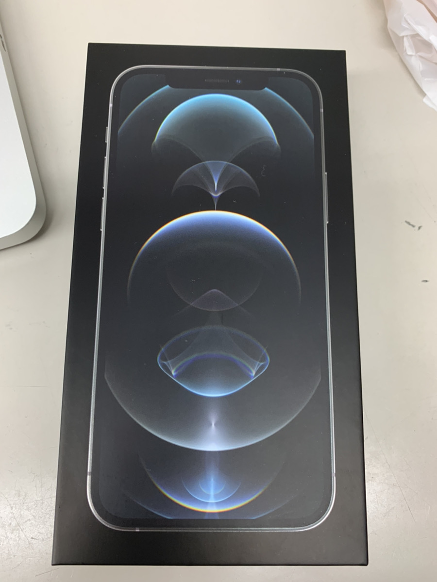 iPhone12Pro 256GBシルバーSoftbank△ 新品