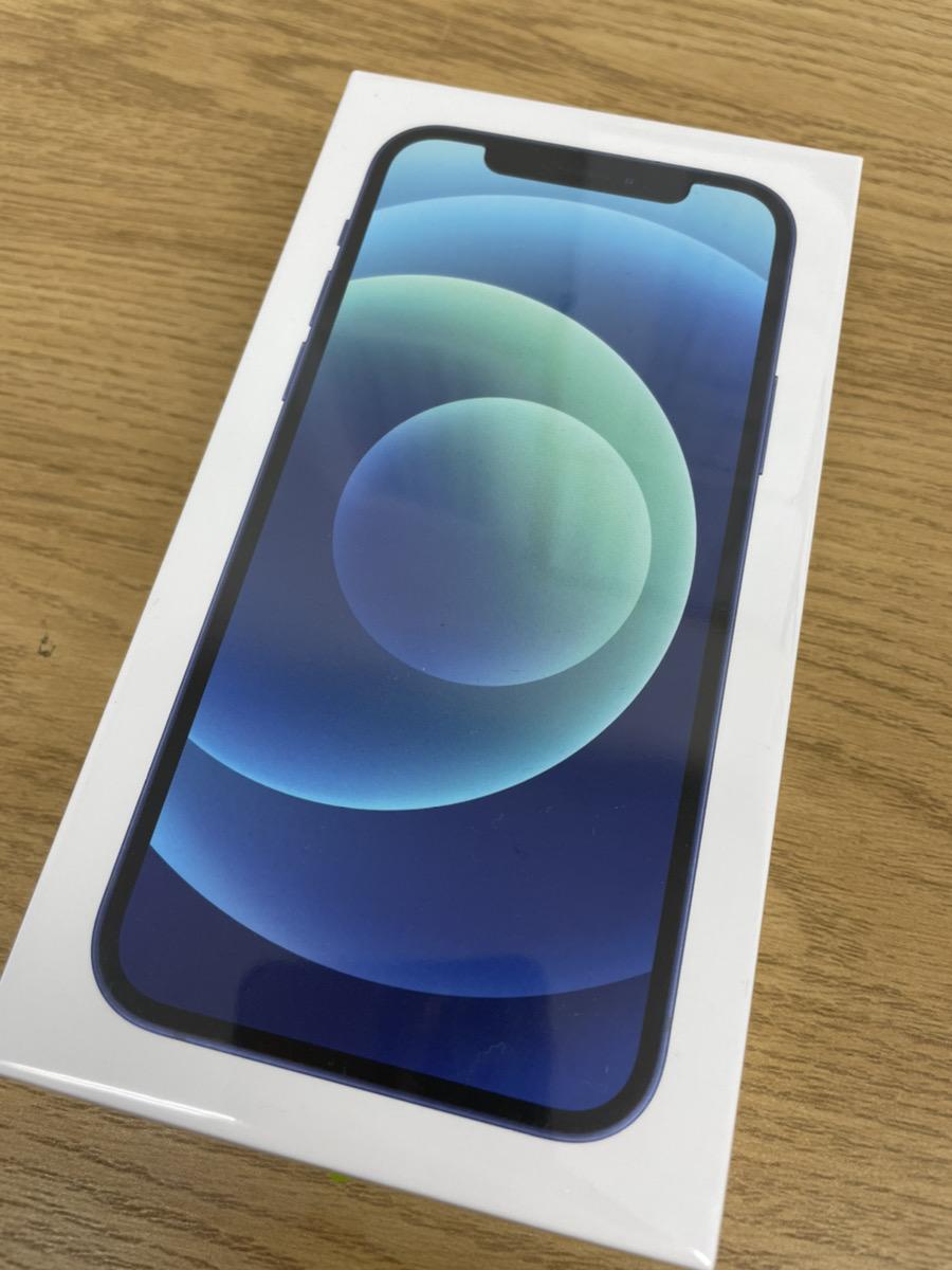 iPhone12 128GB ブルー SIMフリー 新品未開封品