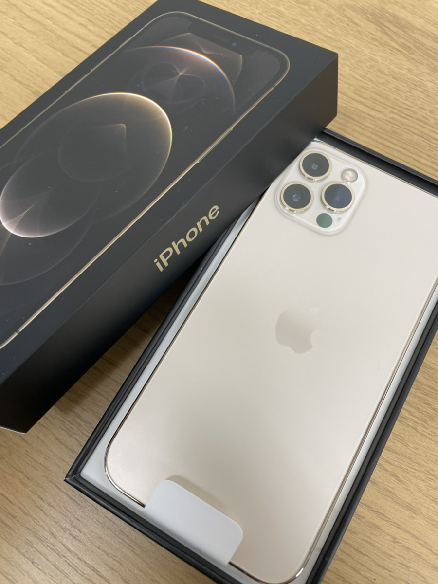 iPhone 12 Pro256GBゴールド Softbank 分割有り 新品未使用品