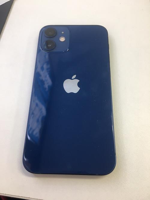 iPhone12mini ブルー 128GB SB△ 中古本体のみ シムロック解除済み