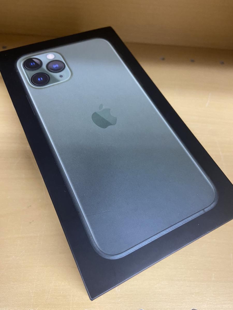 iPhone11Pro 64GB ミッドナイトグリーン