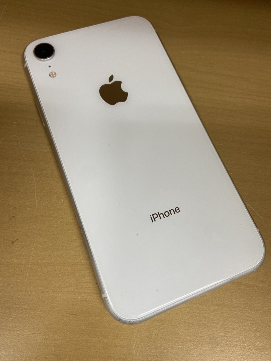 iPhoneXR 64GB ホワイト