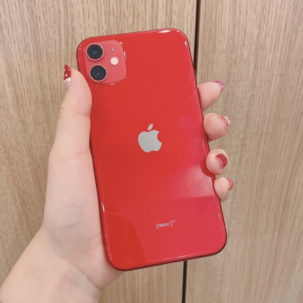 iPhone11 64GB レッド Docomo△ 中古