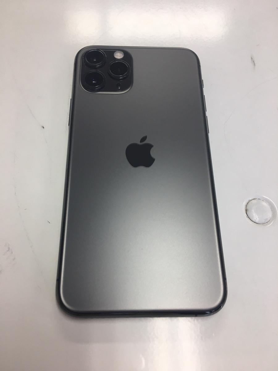iPhone11Pro グレー256GB SB△ 中古美品本体のみ