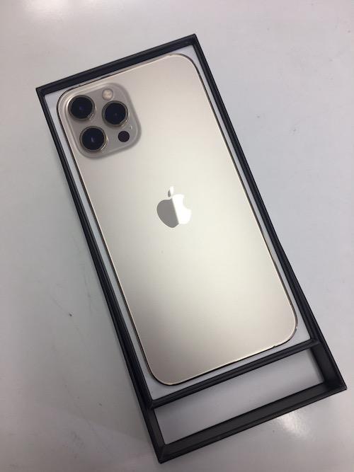iPhone 12 Pro Max256GBゴールド SIMフリー 新品開封済み
