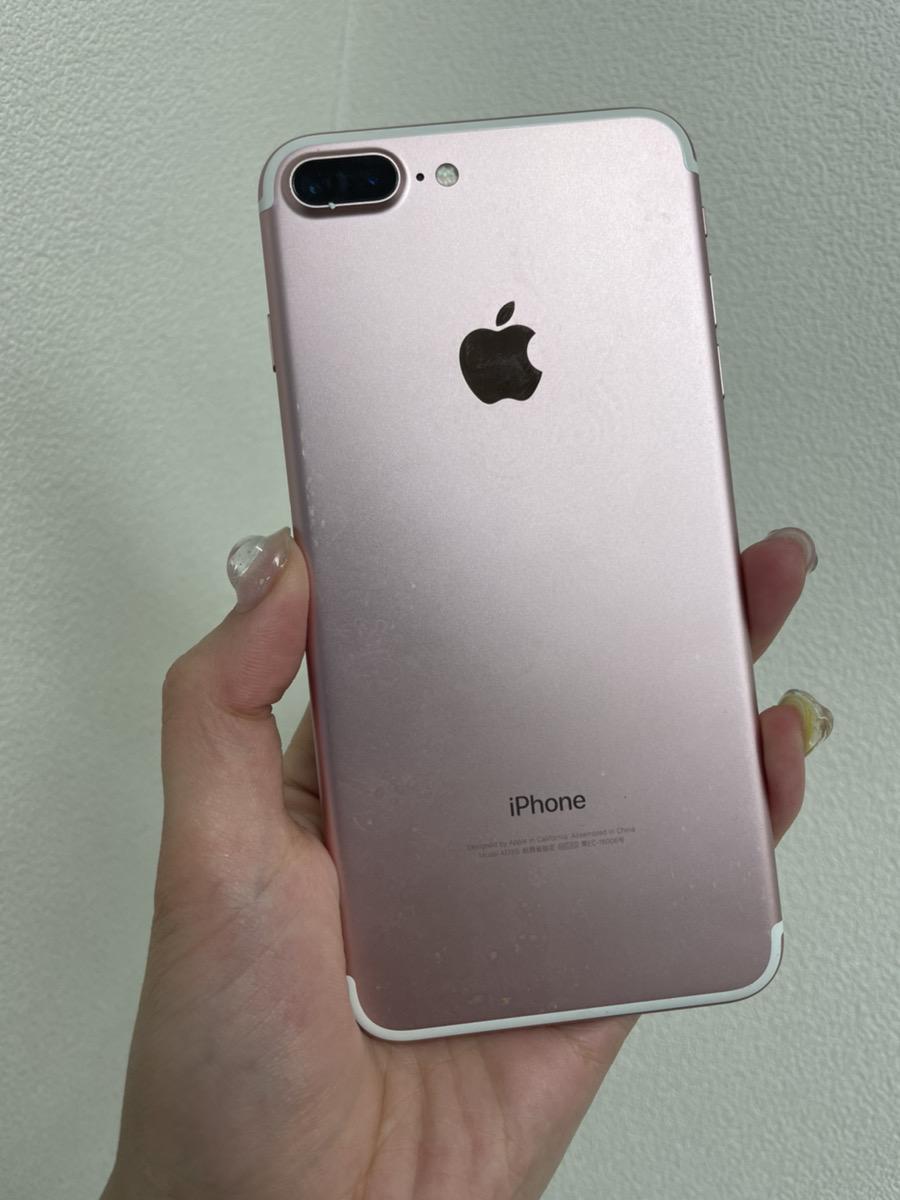 iPhone7Plus 128GB ローズゴールド au 中古品
