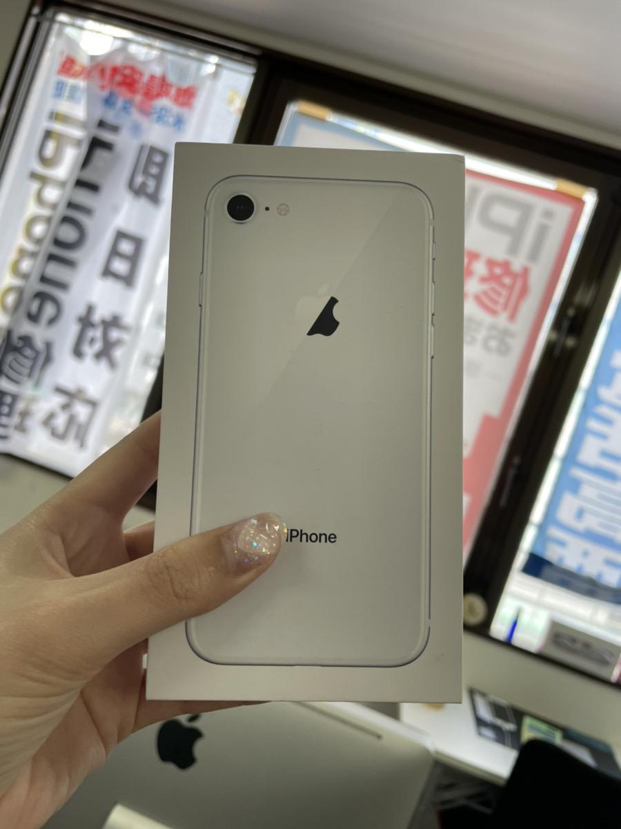 iPhone8 64GB シルバー SoftBank 中古品