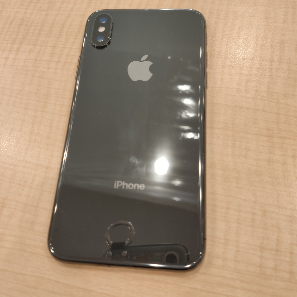 iPhoneX 64GB スペースグレーau〇 中古ジャンク