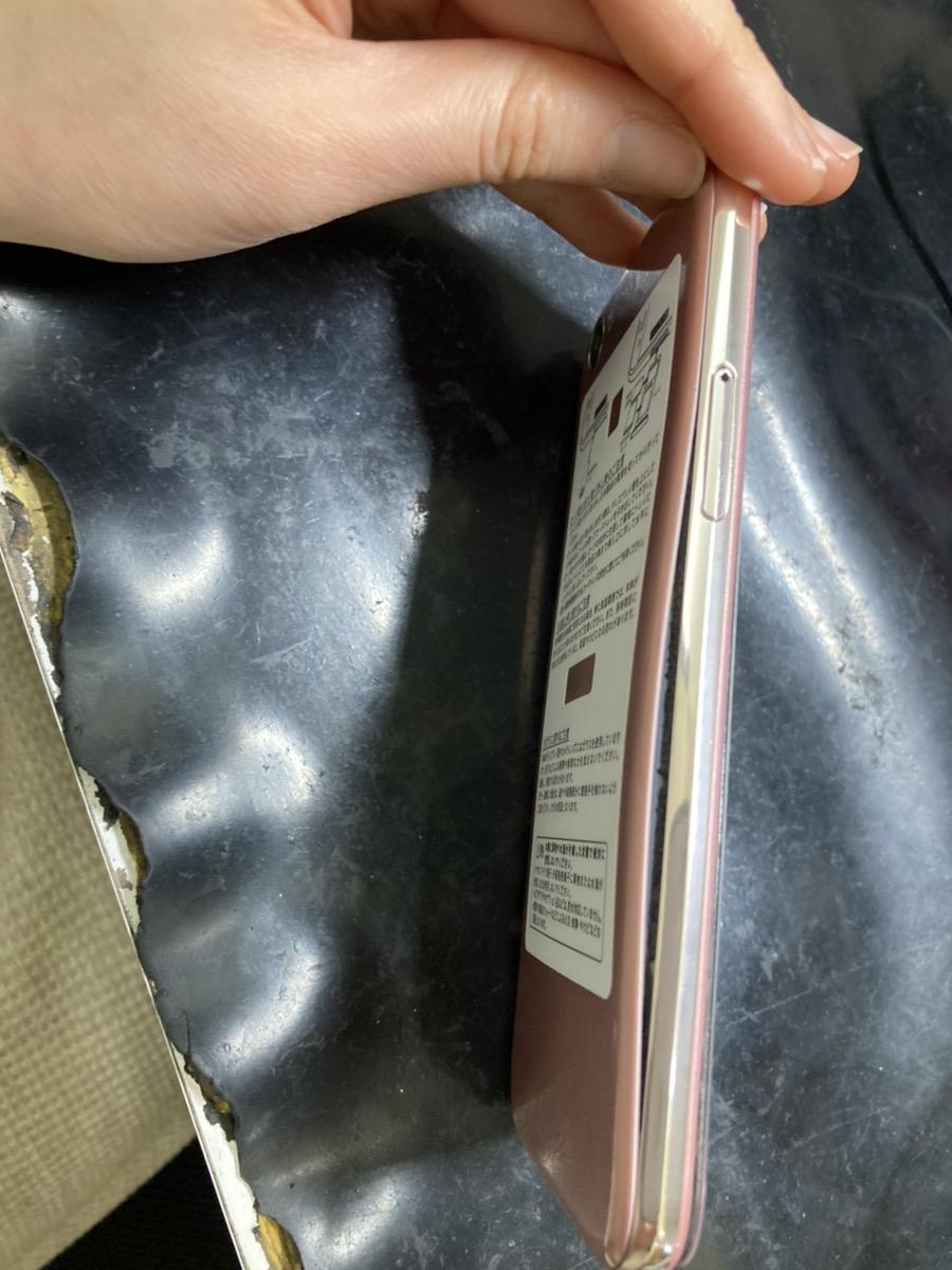 バッテリーが膨張したiPhone