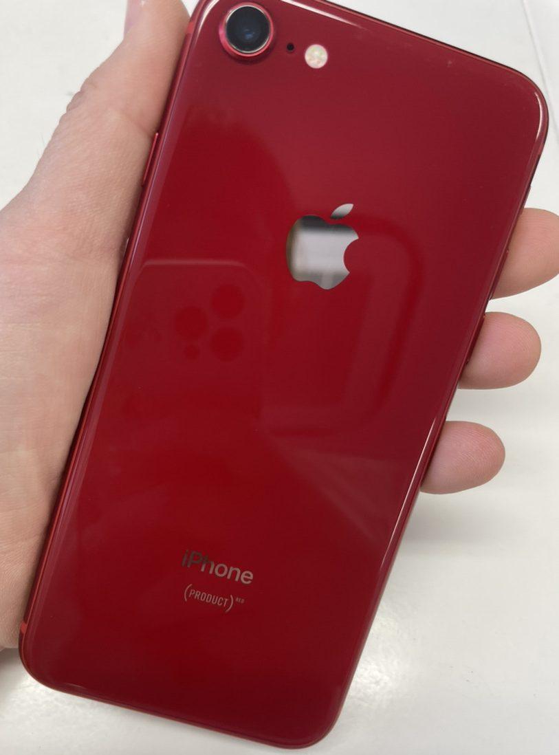 iPhone8 64GB レッドSIMフリー 中古品 付属品なし