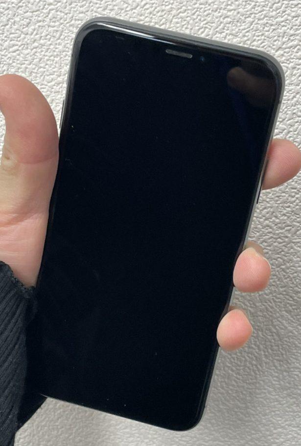 iPhoneX 64GB スペースグレー Softbank △ 中古品
