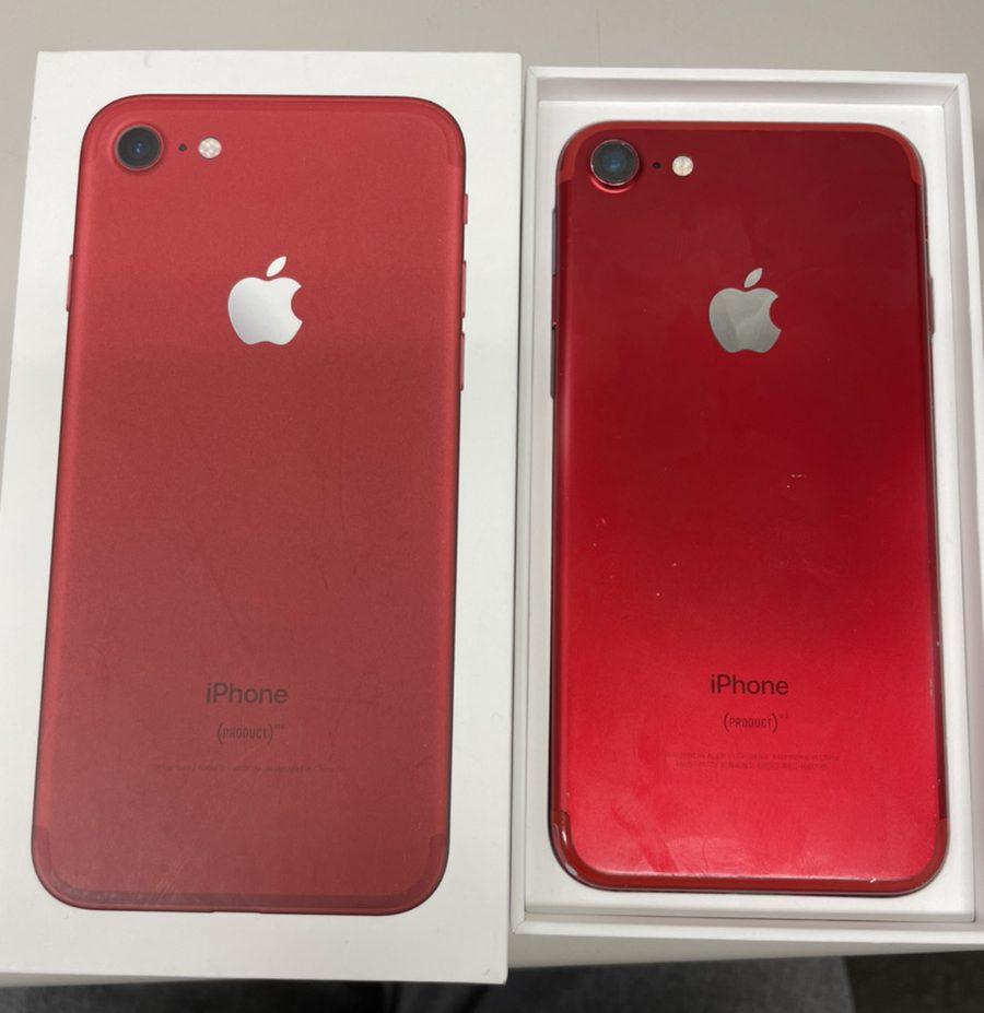 iPhone7 128GB レッド Softbank 中古品