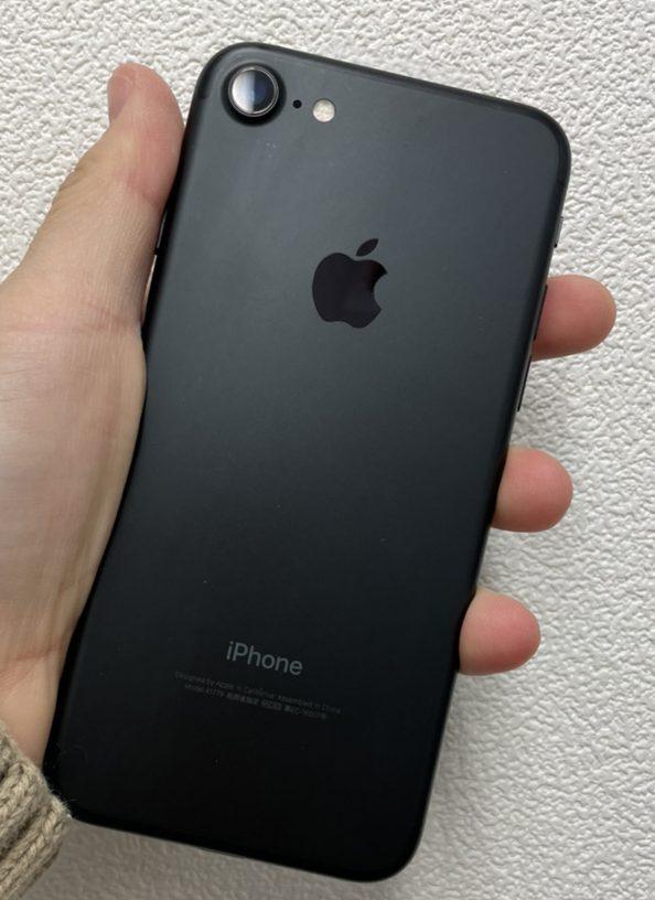 iPhone7 32GB ブラックDocomo 中古品