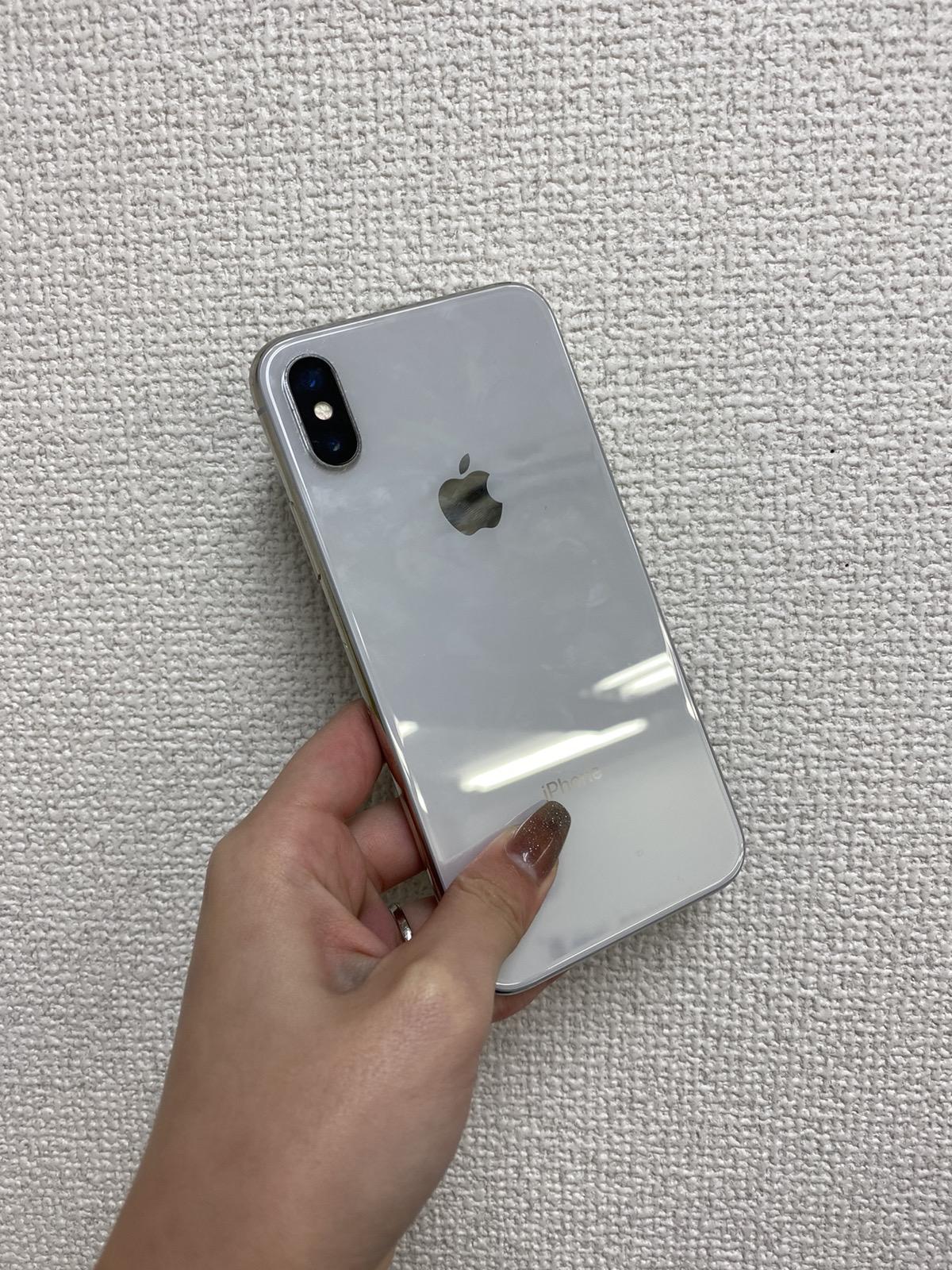 iPhoneX 256GB シルバー Docomo〇中古