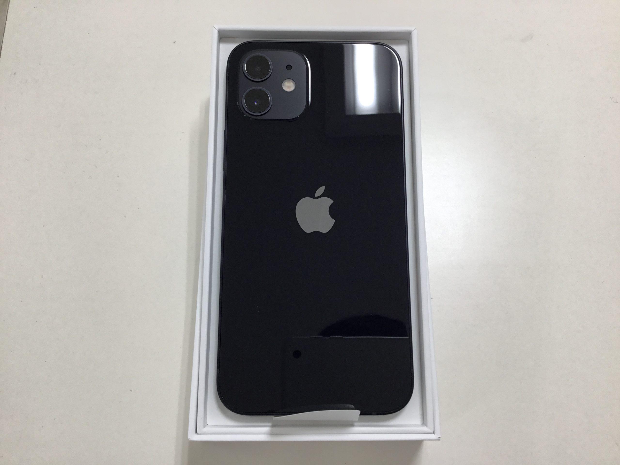 iPhone12 ブラック 64GB 新品未使用品