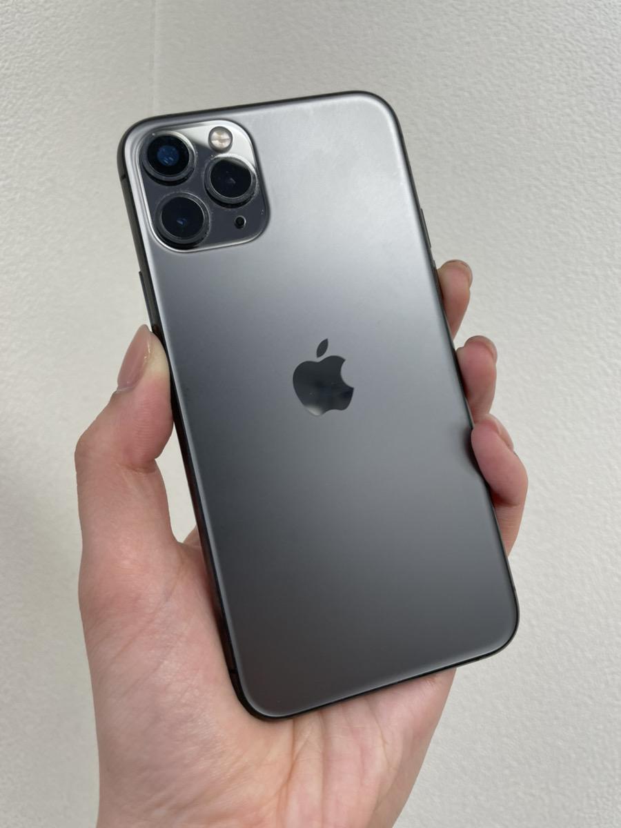 iPhone11Pro 256GB スペースグレー docomo 中古品