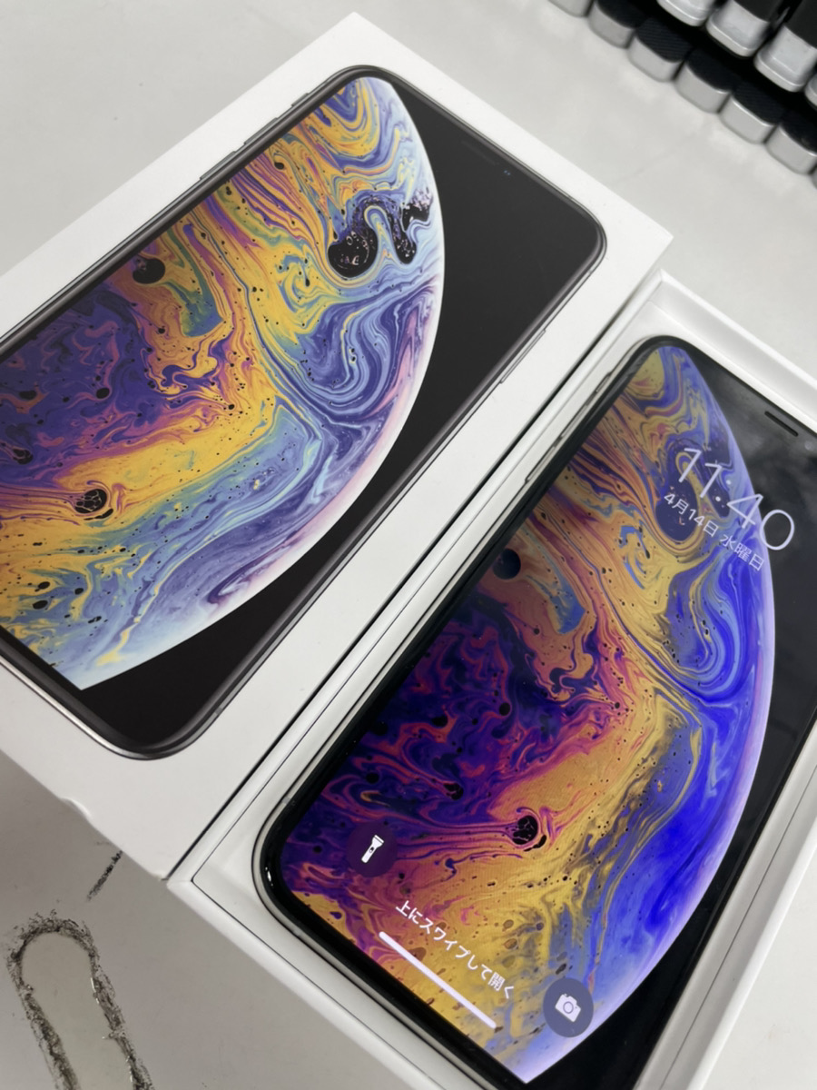 iPhoneXS 256GB スペースグレー softbank 中古品