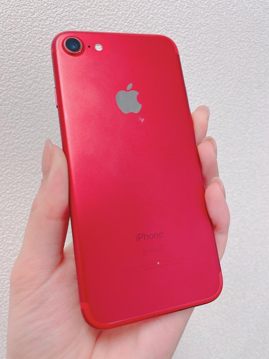 iPhone7 128GB レッド SIMフリー 中古品