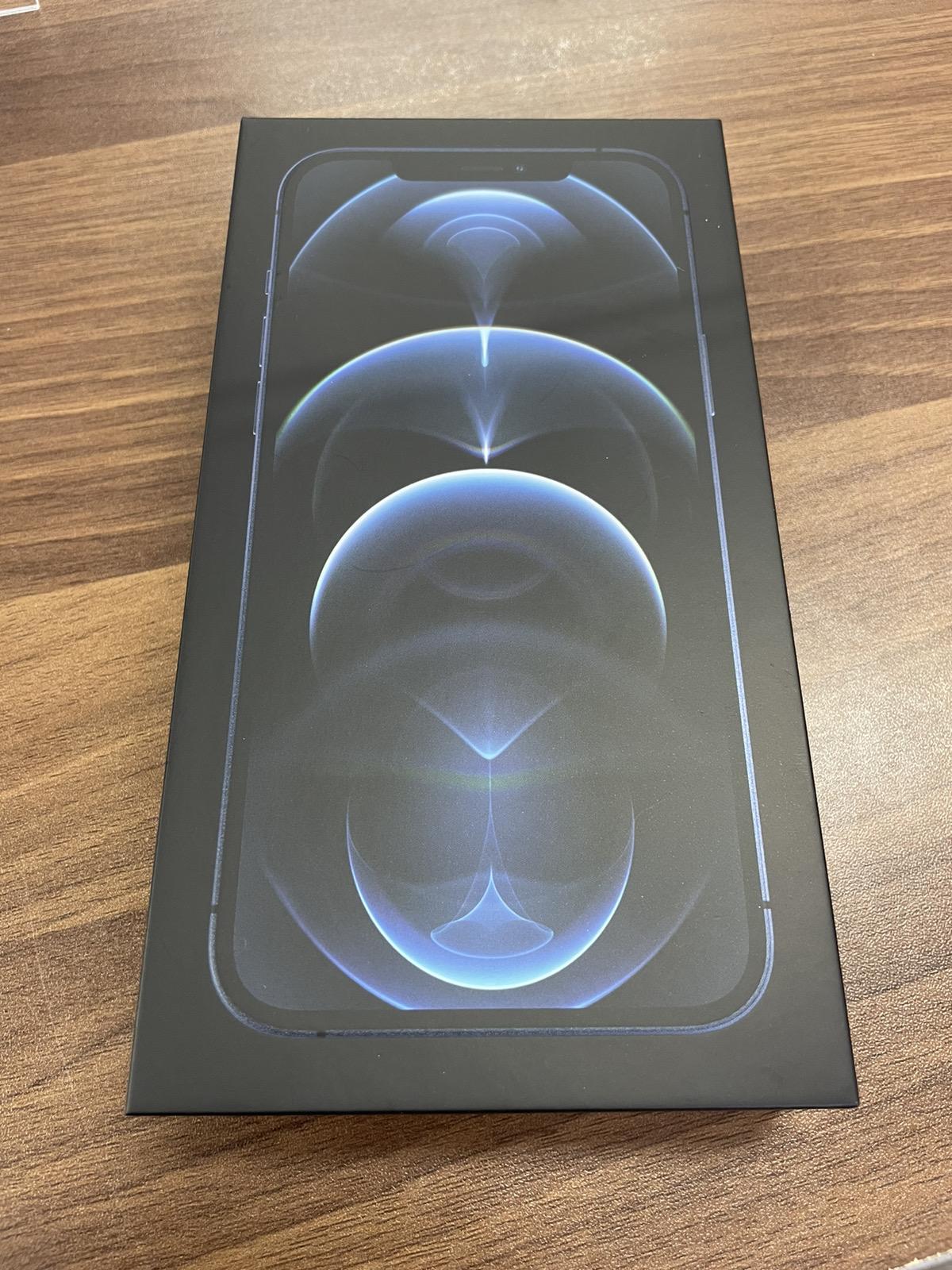 iPhonr 12 Pro Max 256GB ブルー