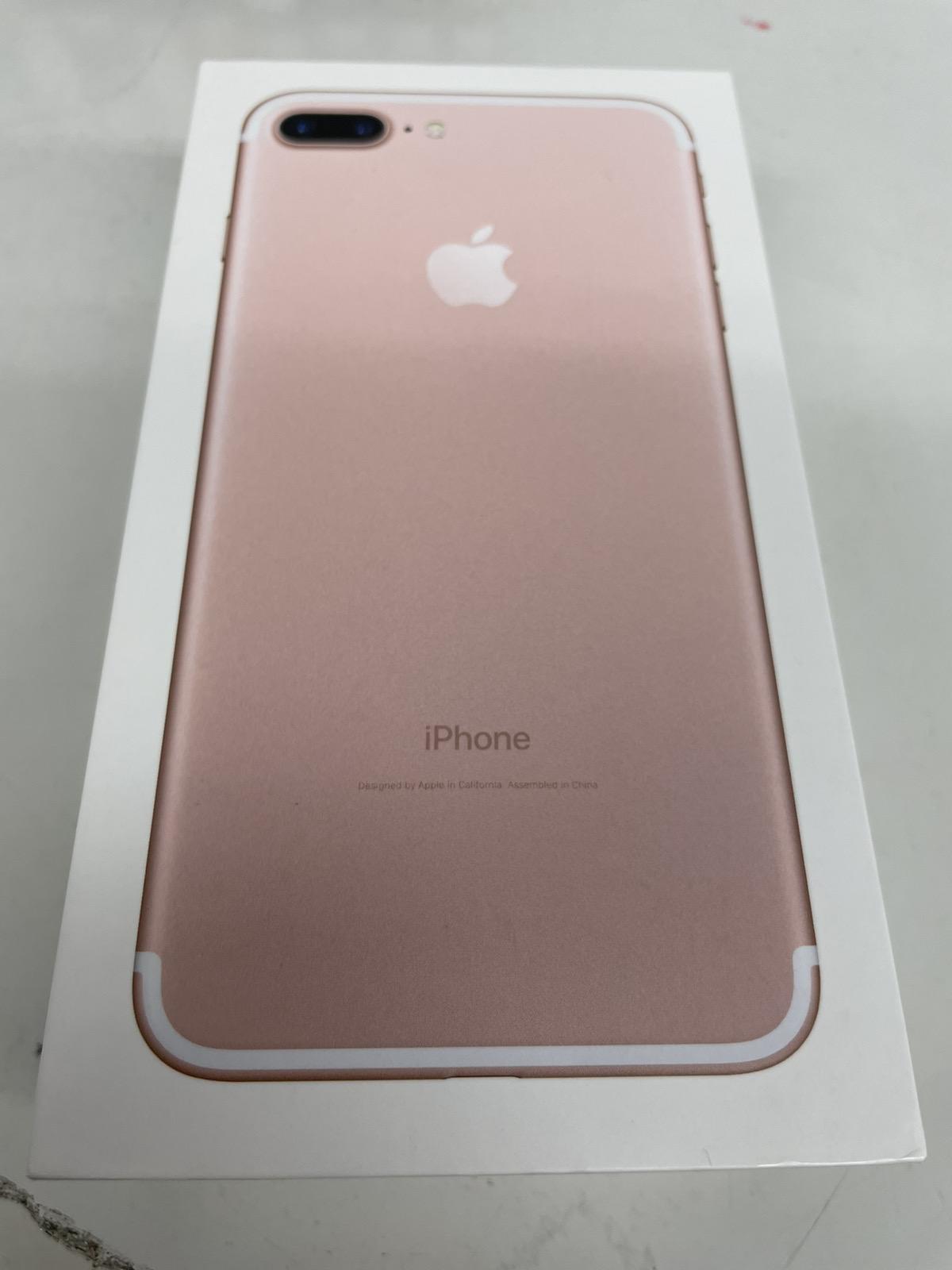 iPhone 7 Plus 256GB ローズゴールド