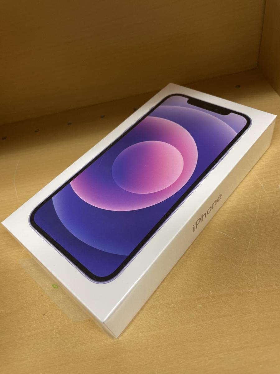 iPhone 12 64GB パープルSIMフリー 新品未開封