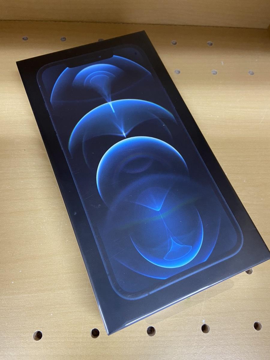 iPhone12ProMax au  256GB パシフィックブルー 新品未開封品