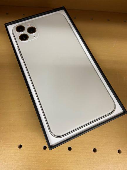 iPhone11ProMax au  256GB シルバー